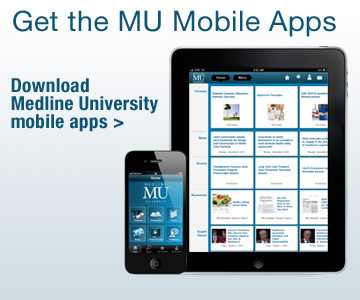Get the Medline University Mobile Apps