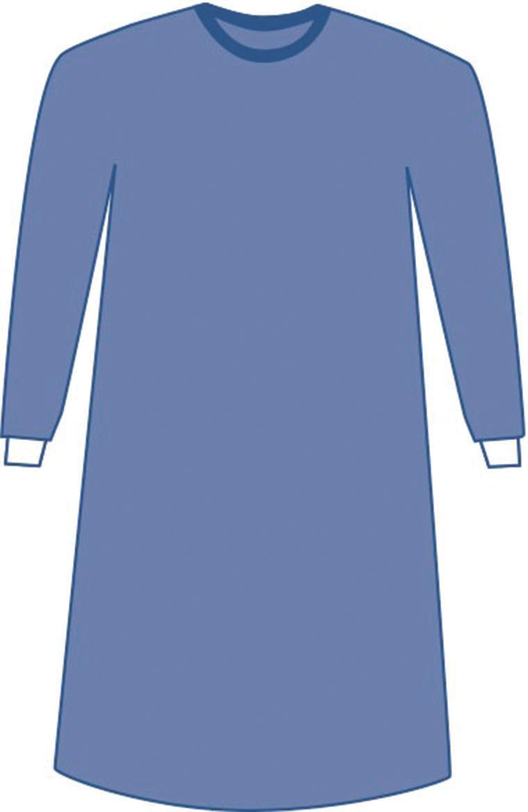 Prevention Plus Breathable Film Surgical Gowns | Medline Industries ...