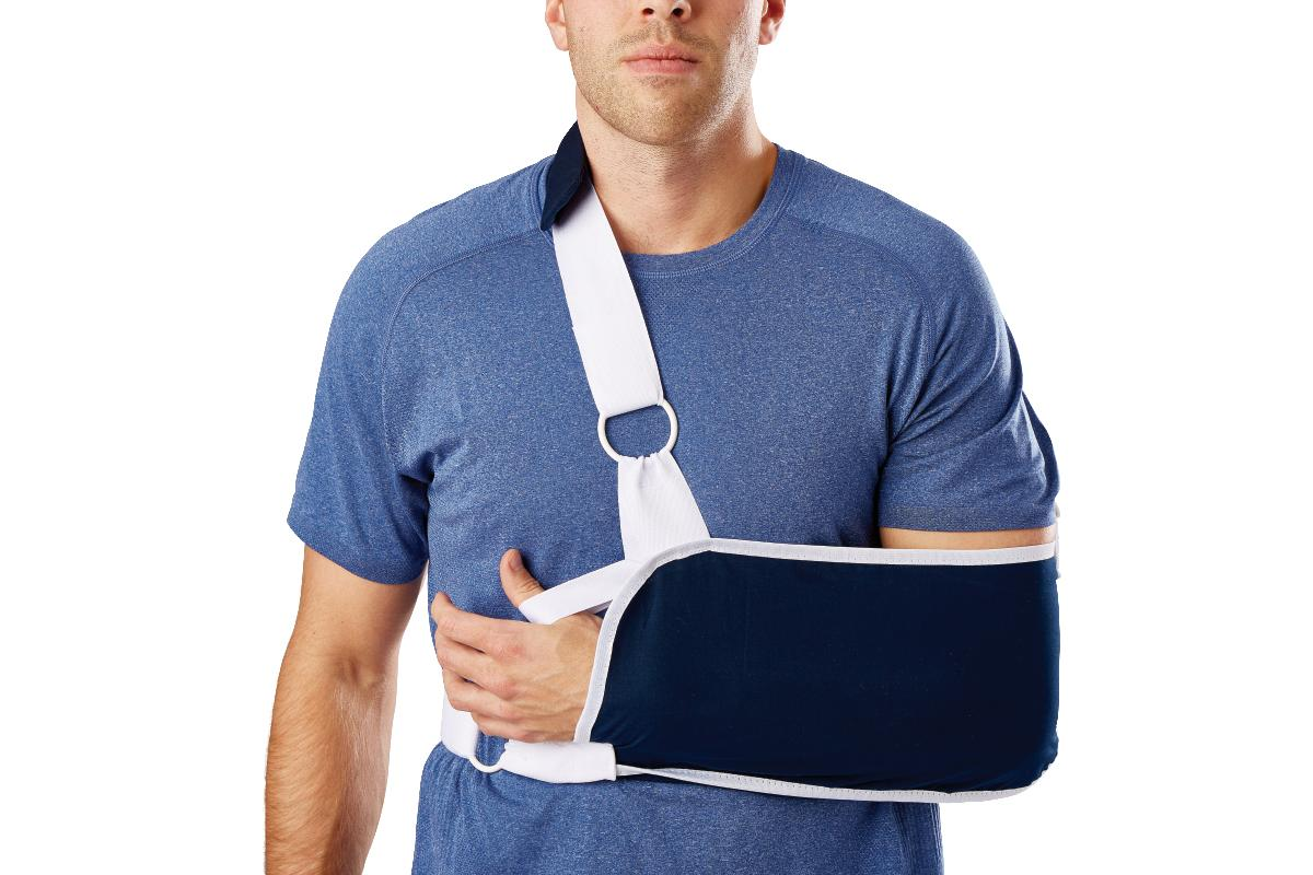 Sling-Style Shoulder Immobilizer with Neck Pad,X-Large PF03177