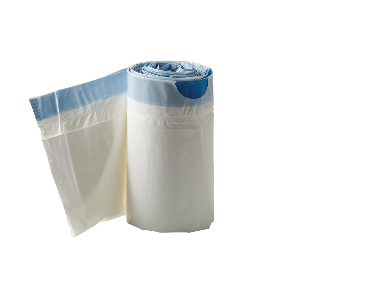 Commode Liners with Absorbent Pad, 12 COMMODE LINERS,W/ABSORBANT PAD,6BX/CS PF04657