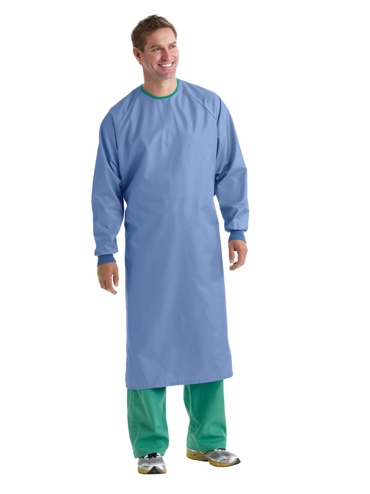 1-Ply Blockade AngelStat Surgical Gowns | Medline Industries, Inc.