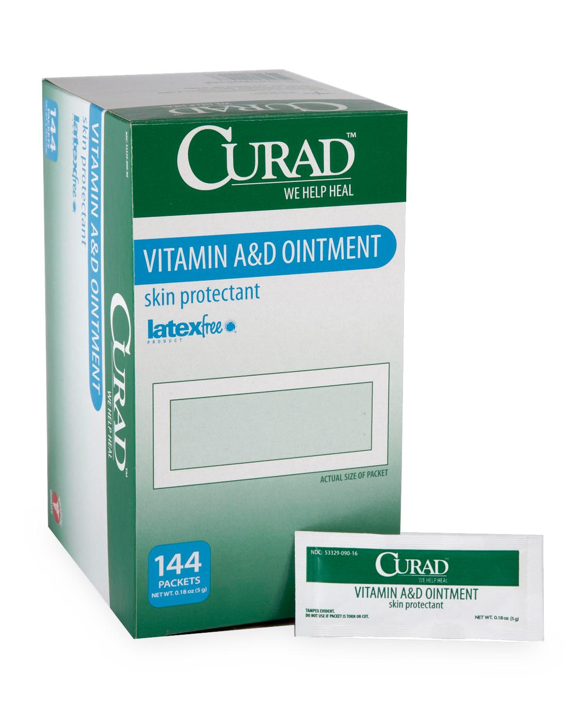 Curad A And D Ointment,0.017 Oz-Medline Equipment