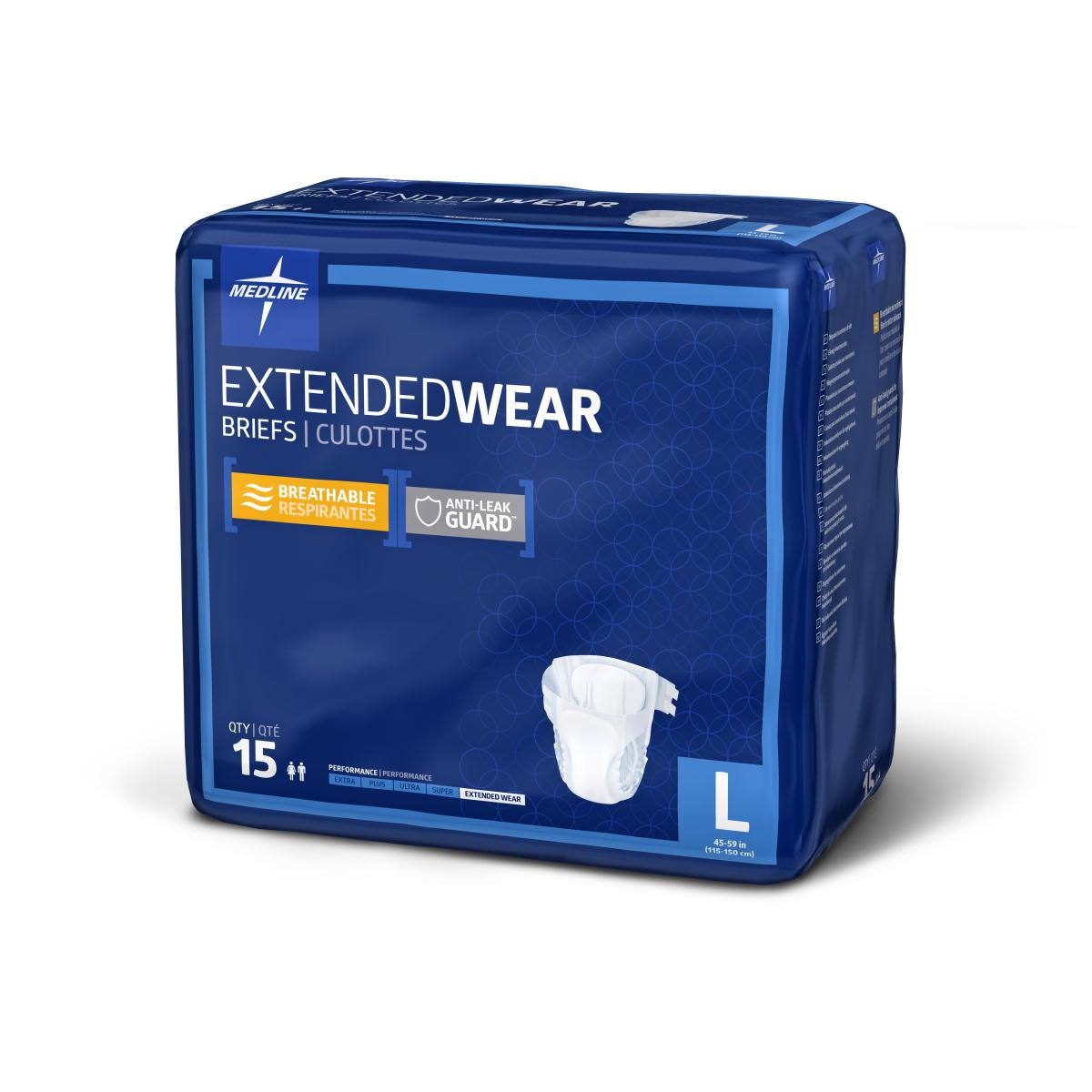 "Extended Wear Briefs,45""- 59""-"
