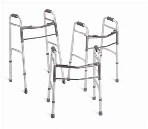 Youth Basic Two-Button Folding Walker