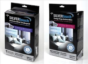 SilverTouch Underpad, Twill Face, 32x36 (Case of 6)