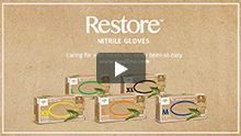 Introducing Restore™ Gloves with Colloidal Oatmeal